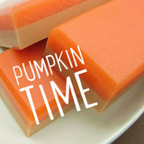 Pumpkin Pie sugar soap - sunbasilgarden.com