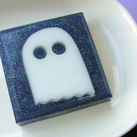 Mr. Boo the Ghost made out of Soap - sunbasilgarden.com