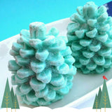 Pine Cone handmade glycerin Soap for Holiday gifts by Sunbasilsoap.com