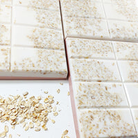 Oatmeal Milk and Honey Soap. Handmade gentle soap for sensitive skin. Made daily in Middletown, Delaware USA