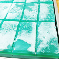Cucumber Soap handmade glycerin salt bar soap by Sunbasilsoap.com