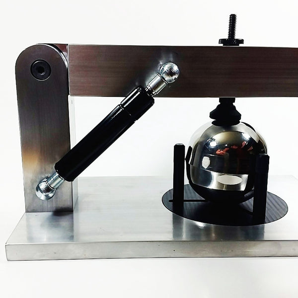 Bath bomb press for bath bomb makers from Machine Advantage
