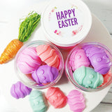 Easter Egg soaps for Easter basket fillers by Sunbasilsoap.com
