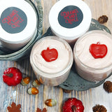 Caramel Apple Sugar Scrub www.sunbasilsoap.com
