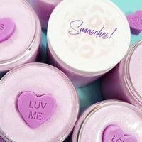 Blackberry Smooches Sugar Scrub at Sunbasil Soap