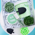 Aloe Bath and Body Gift Set www.sunbasilsoap.com