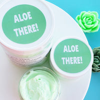 Aloe Body Butter www.sunbasilsoap.com