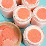 Orange Sugar Scrub www.sunbasilsoap.com