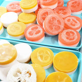 Orange Loofah Soap www.sunbasilsoap.com
