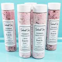 Rose Bath Salts www.sunbasilsoap.com