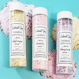 Lemongrass Bath Salts www.sunbasilsoap.com