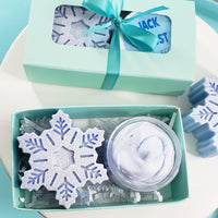 Winter Wonderland Mini Spa Gift www.sunbasilsoap.com