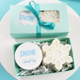 Snowflake Mini Winter Spa Gift www.sunbasilsoap.com