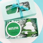 Mistletoe Christmas Mini Spa Gift www.sunbasilsoap.com