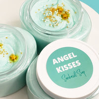 Angel Kisses Sugar Scrub www.sunbasilsoap.com