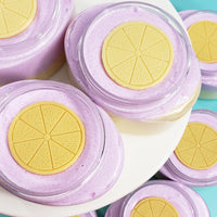 Lavender Lemon Bath Gift Set www.sunbasilsoap.com