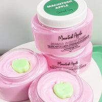 McIntosh Apple Body Scrub www.sunbasilsoap.com