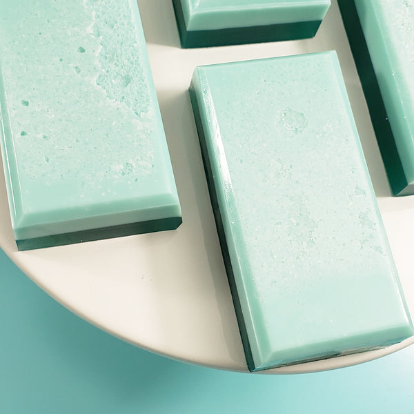 Eucalyptus & Mint Salt Bar Soap www.sunbasilsoap.com