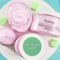 Macintosh Apple Body Cream www.sunbasilsoap.com