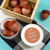 I'm Nuts About Fall Acorn Soaps www.sunbasilsoap.com