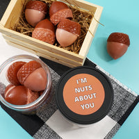 Nuts About You Acorn Soaps www.sunbasilsoap.com