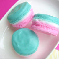 Macaron Soap:  Apple Pie www.sunbasilsoap.com