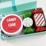 Candy Cane Mini Spa Gift www.sunbasilsoap.com