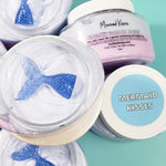 Mermaid Sugar Scrub www.sunbasilsoap.com