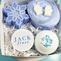 Winter Wonderland Bath Gift Set www.sunbasilsoap.com