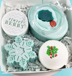 Tinsel Berry Christmas Spa Gift www.sunbasilsoap.com