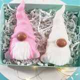 African American Christmas Gnomes Soap Gift Set : Pink www.sunbasilsoap.com