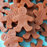 Gingerbread Man Soap www.sunbasilsoap.com
