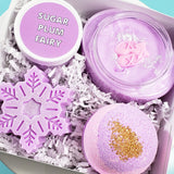 Sugar Plum Fairy Spa Gift Basket: Holiday www.sunbasilsoap.com