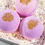 Sugar Plum Fairy Bath Bomb www.sunbasilsoap.com