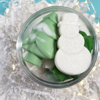 Merry Christmas Snowman Soaps: Stocking Stuffers www.sunbasilsoap.com