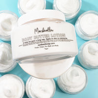 Marshmallow Body Butter www.sunbasilsoap.com