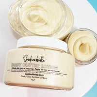 Snickerdoodle Body Butter www.sunbasilsoap.com
