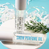 Fresh Snow Perfume Oil www.sunbasilsoap.com