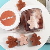 Oh Snap Gingerbread Men Christmas Soaps www.sunbasilsoap.com