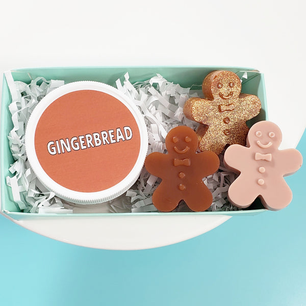 Gingerbread Mini Spa Gift www.sunbasilsoap.com