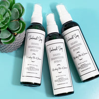 Spray Hand Sanitizer Aloe and Jasmine Scent www.sunbasilsoap.com