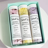 Soak Your Troubles Away Bath Salt Gift Box www.sunbasilsoap.com
