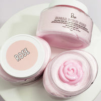 Rose Body Scrub www.sunbasilsoap.com
