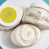 Daisy Flower Body Cream www.sunbasilsoap.com