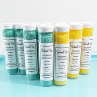 Angel Kisses Foaming Bath Salts www.sunbasilsoap.com