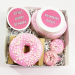 Encouragement Spa Gift Box : Donut Worry, Be Happy www.sunbasilsoap.com