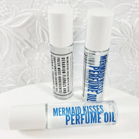 Mermaid Kisses Perfume Oil www.sunbasilsoap.com