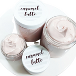 Caramel Latte Whipped Body Butter www.sunbasilsoap.com