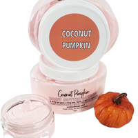 Coconut Pumpkin Body Butter www.sunbasilsoap.com