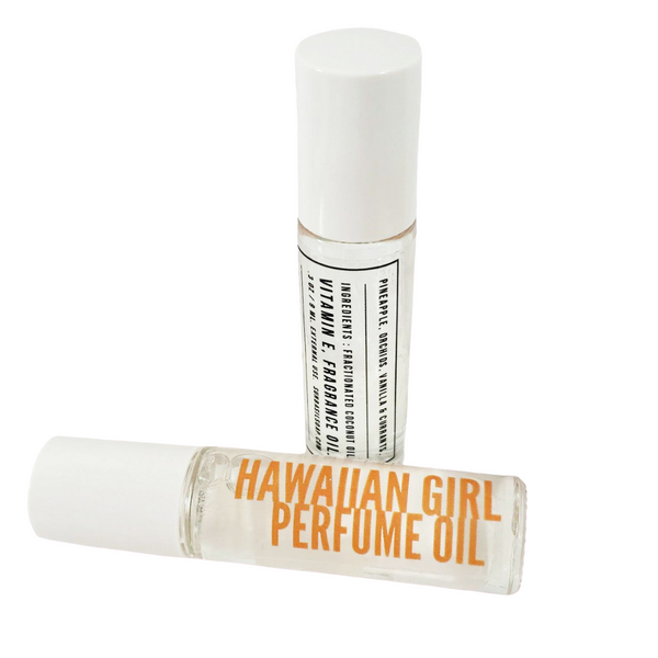 Hawaiian Girl Perfume Oil www.sunbasilsoap.com